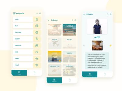 Miha - sign languague learning app