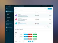 Design system for Hotel Management app