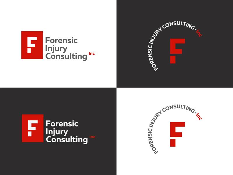 Forensic Injury Consulting, Inc consulting monogram logodesign logotype logo