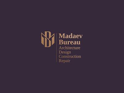 Madaev Bureau monogram letter mark monogram design monogram logo monogram design logodesign logo