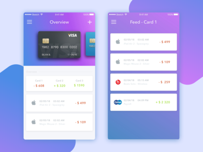 Fintech project of Mobile Banking iOS App