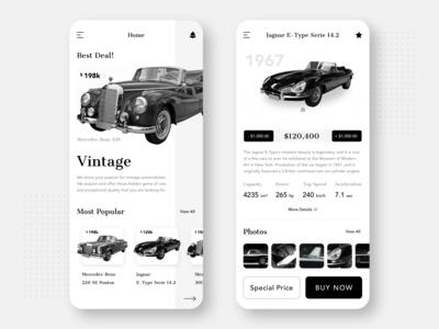Vintage Car Auction Application
