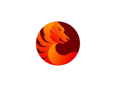 Tiger Mark wild golden mark circle minimal tiger eagle branding symbol icon logo