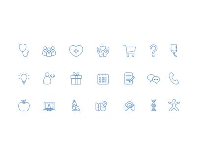 Icon Set • Good Medicine icons