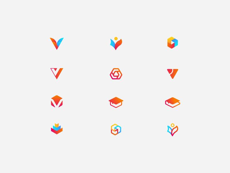 hello dribbble illustration 设计 logo icon