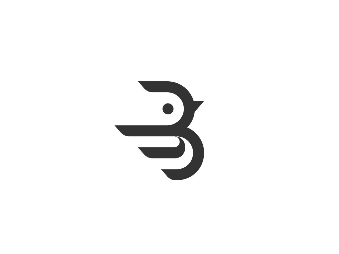 bird branding design illustration 设计 logo icon