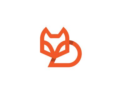 Fox design branding illustration icon 设计 logo