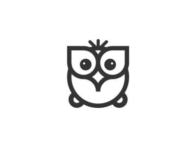 Owl design branding illustration icon 设计 logo