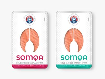 Salmon Packaging Design