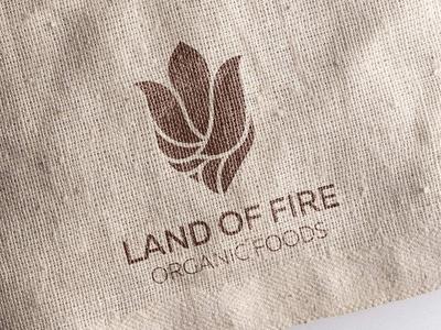 Land of Fire branding