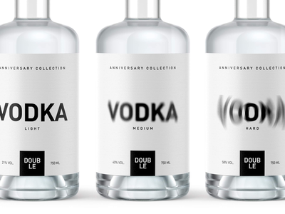 Vodka Creative Packaging Design