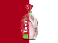 Packaging design for Tamli chicken broiler
