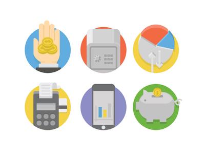 Finance Flat Icons