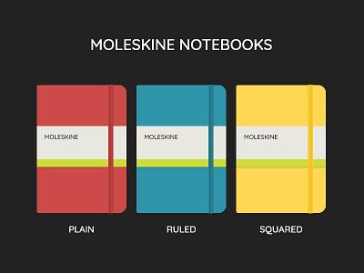 Moleskine Notebooks moleskine flat design notebook