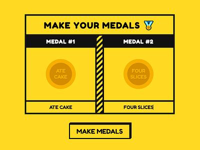 Medal Factory flat design medal