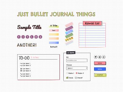 Bullet Journal Styles moleskine bullet journal