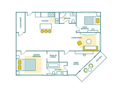 Floor Plan: The Dream Apartment