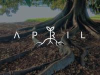 April | Wordmark