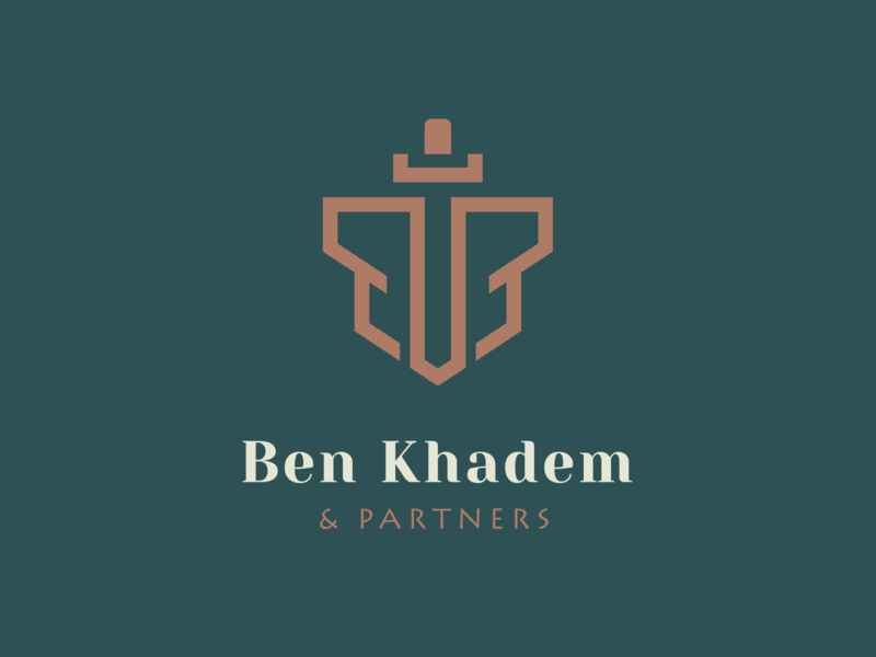 Ben Khadem | Logomark