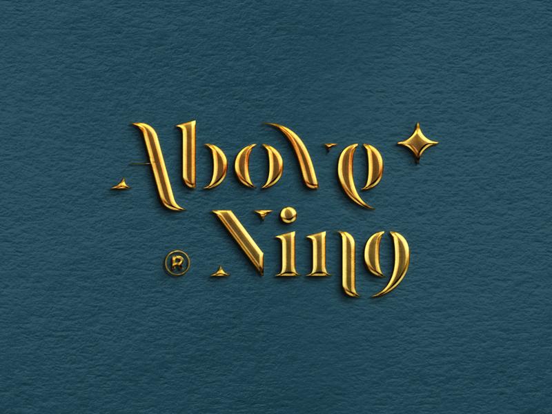 Above Nine | Logotype