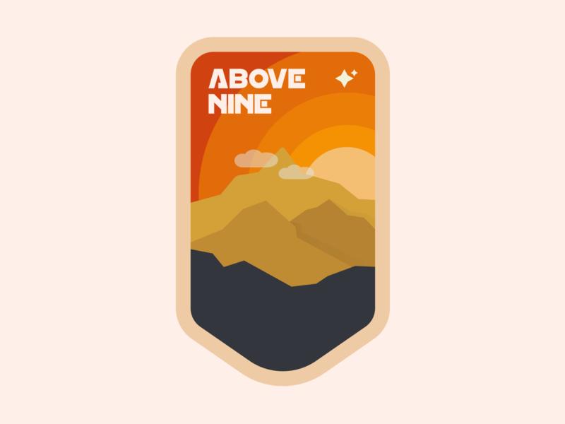 Above Nine | Badge