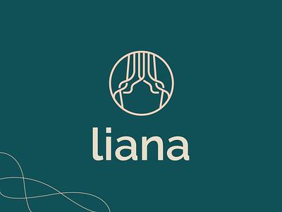 Liana   Logomark trees roots marketing environment consulting lineart vector typography brand identity mark brand symbol icon logo