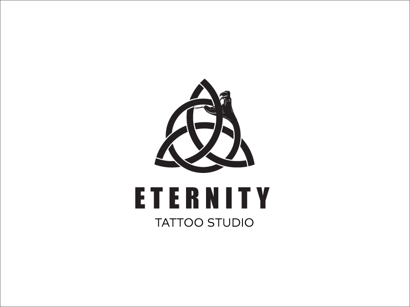 Eternity Tattoo - Logo design by Filip Panov on Dribbble