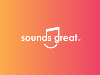 Sounds Great Logotype