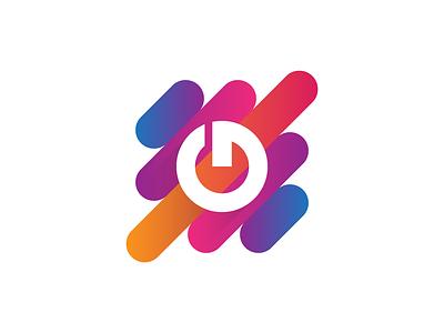 Gatti Beats 01 soundwaves dynamic beats instrumental music gradient lettermark design illustration logomark brand identity mark brand symbol icon logo