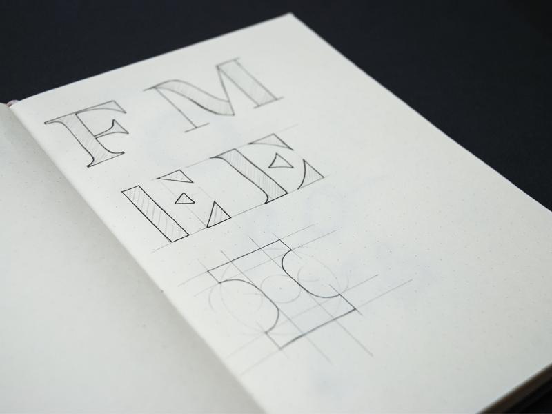 Letters sketch type type art letter letterform art sketchbook sketch typography