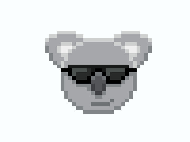 Pixel Art Koala Twitch Emote For Vixtori By Litiare On Dribbble