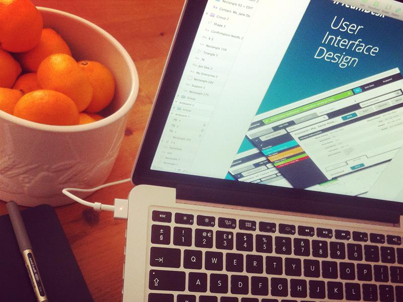 UI Behance Design Process ui ux behance design process mac sketch workspace mbp oranges