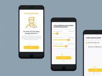 Worbby Mobile App UI - Onboarding 1