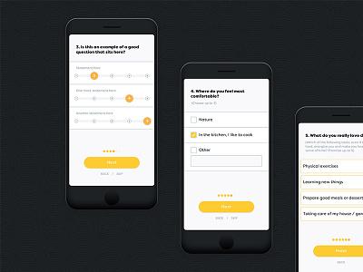 Worbby Mobile App UI - Onboarding 2 blue and yellow design website peer-to-peer ux ui mobile app web worbby