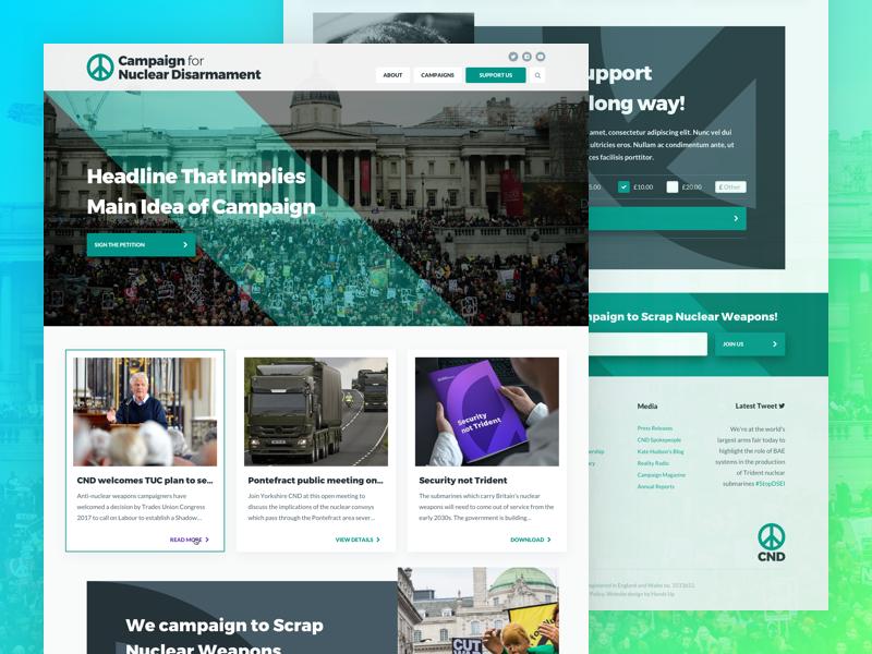 Homepage Design