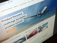 Aerospace Homepage Visual 2