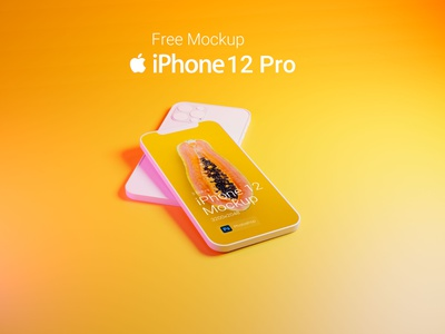 iPhone 12 Pro Free Mockup illustration webdesign design ui free download psd free download mockups blender3d blender 3d iphone iphone 12 iphone12 download free mockup psd mockup