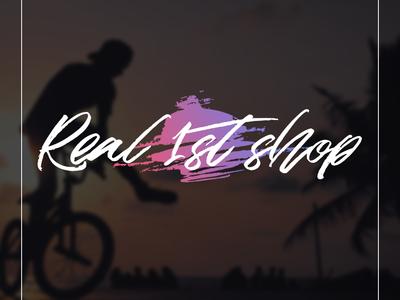 """Real 1st shop"" Logo"