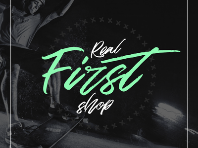 """'Real first shop"""" Logo"""