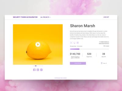 Crowdfunding page