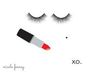 Lipstick & Lashes