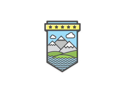 Countryside badge