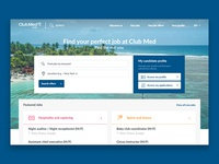 Club Med - careers website