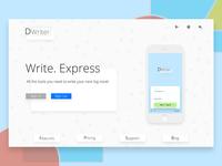 Webpage | Dwriter app