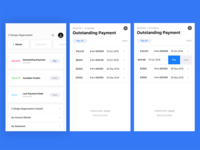 Outstanding Payment Screen | Client Portal Zoho