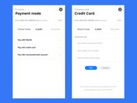 Payment page | Client portal app