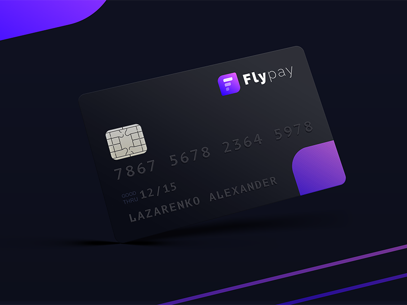 Flypay logo money finance credit card banking bank pink pay logo identity fly blue