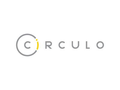 Circulo Logotype yellow brand circle
