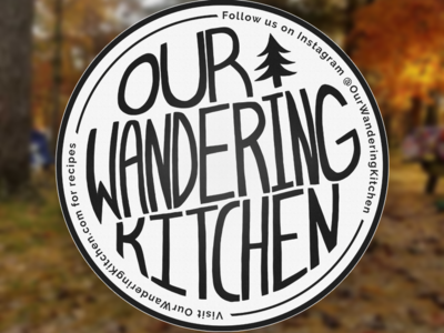 Our Wandering Kitchen Coaster