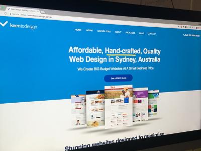 Keen To Design Web Design Sydney webdesignsydney webdesigner webdesign